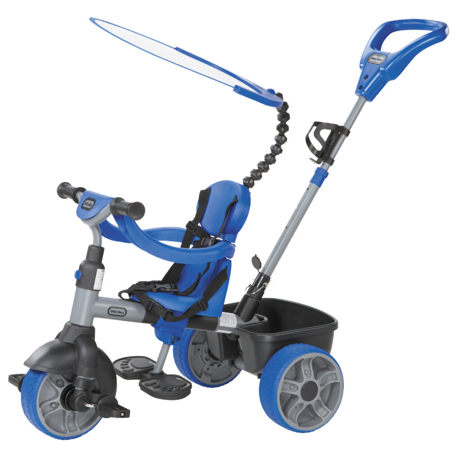 LITTLE TIKES Triciclo 4-in-1 Basic Edition - Blu