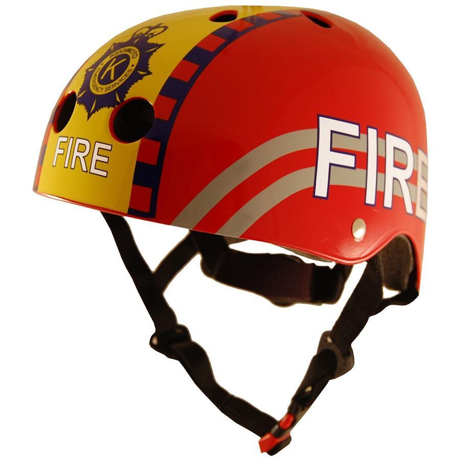 kiddimoto® Helm Design Sport, Feuerwehrmann - Gr. S, 48-53cm