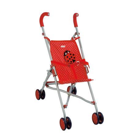 K the kruse silla de paseo para mu ecas mariquita - Silla paseo munecas ...