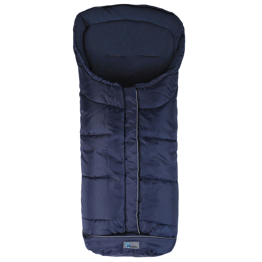 ALTA BEBE Winter Footmuff Standard with ABS (2203XL) navy - Deep blue uni, Collection 2013/2014