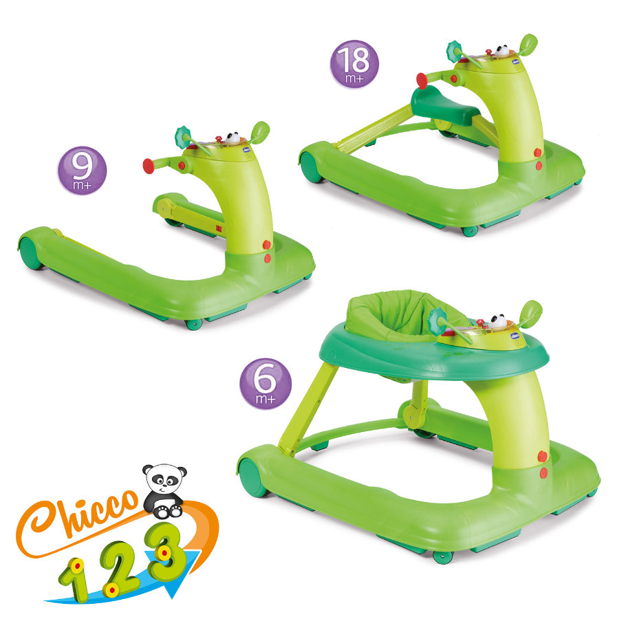 CHICCO Activity-Center 123 GREEN, colore verde