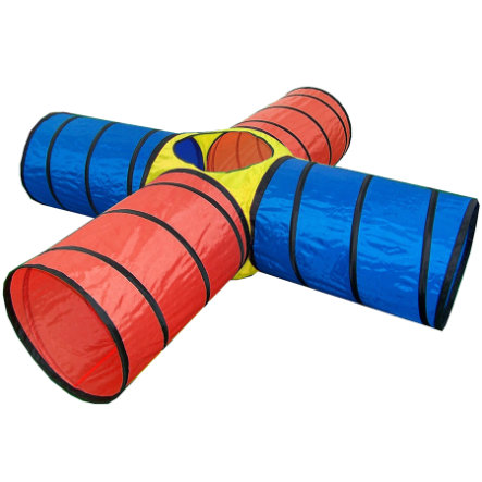 BIECO Play Tunnel, 4 tubes