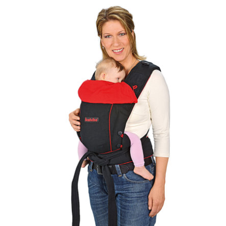 HOPPEDIZ Baby Carrier Bondolino Classic black-red