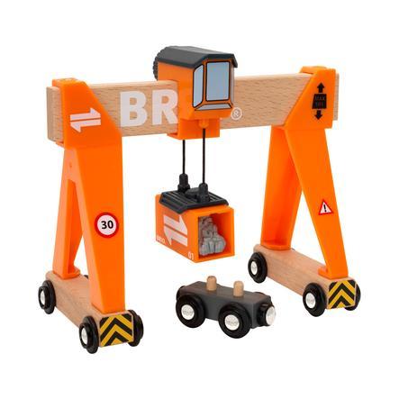 BRIO® WORLD Container-Verladekran 33732
