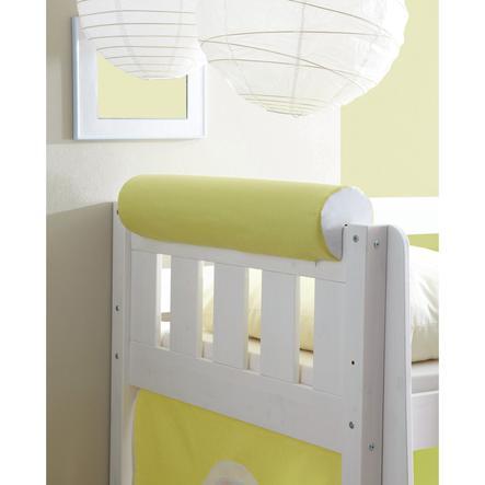 TICAA Wałek/podłówek do łóżka kolor żółto-biały