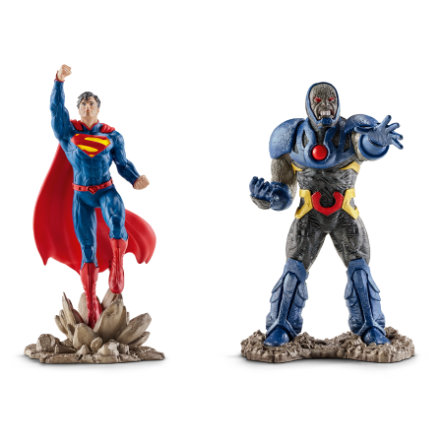 SCHLEICH Scenery Pack Superman vs Darkseid 22509