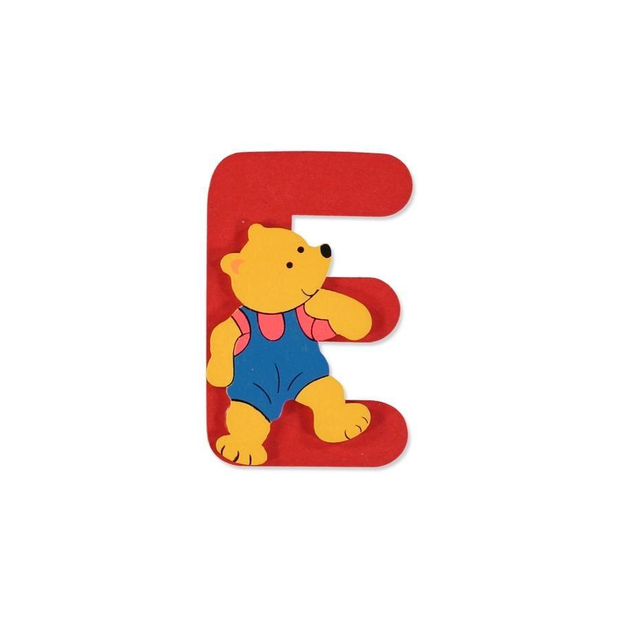 """BIECO Medvědí písmenko """"E"""""""