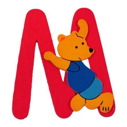 """BIECO Medvědí písmenko """"M"""""""