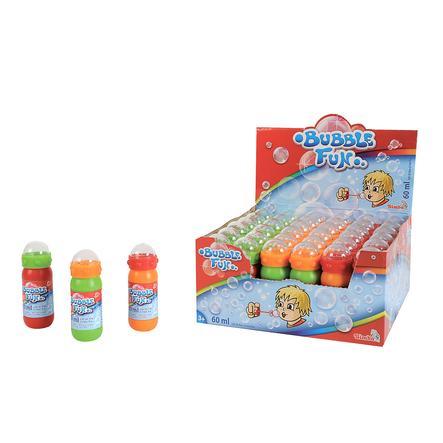 SIMBA Bolle di sapone Bubble Fun, con gioco di abilità