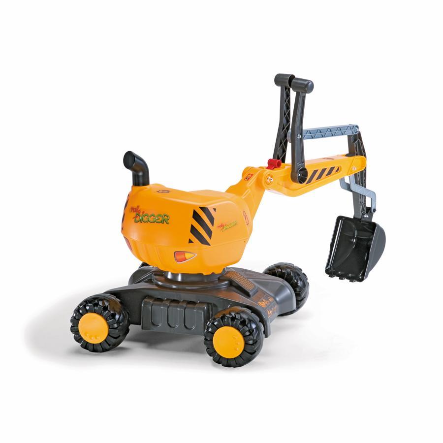 ROLLY TOYS Excavadora con ruedas 421008