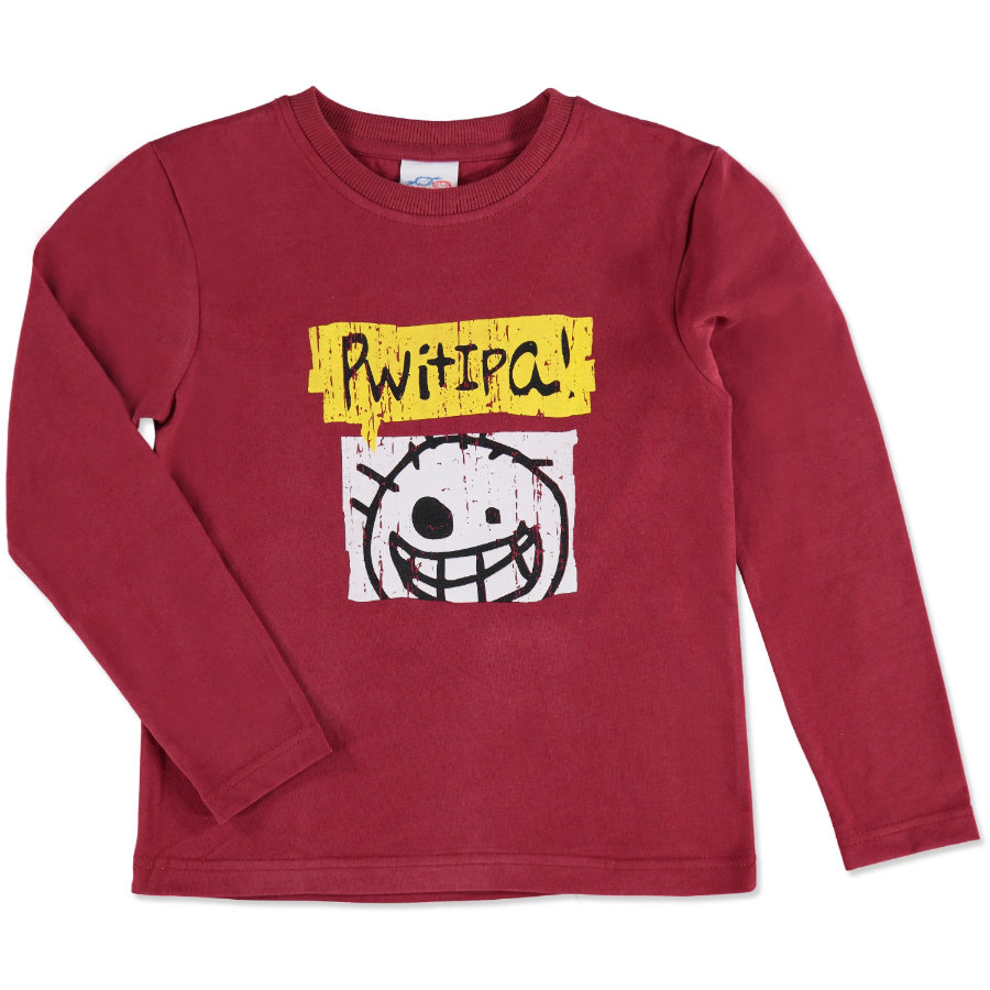 anna & tom Pitkähihainen paita Monster, punainen