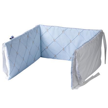 TICAA Tour de parc et de lit, bleu
