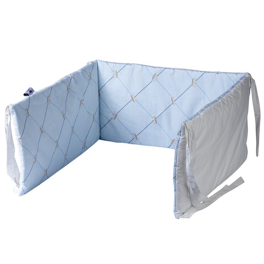 TICAA Bett- und Laufgitternestchen Blau