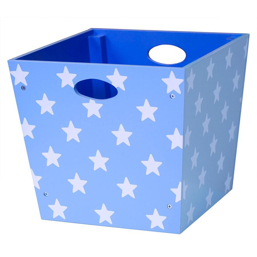 KIDS CONCEPT Boîte de rangement Étoile, bleu