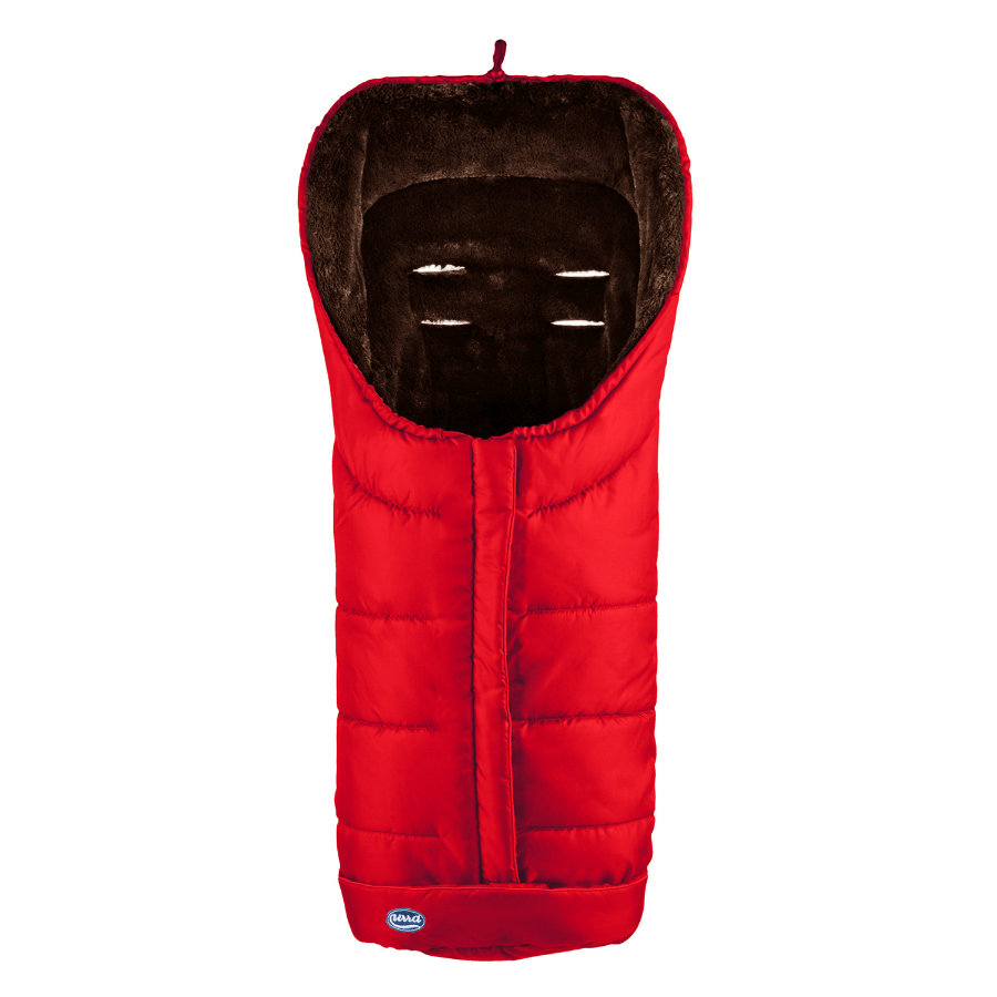 URRA Footmuff Deluxe large red/black