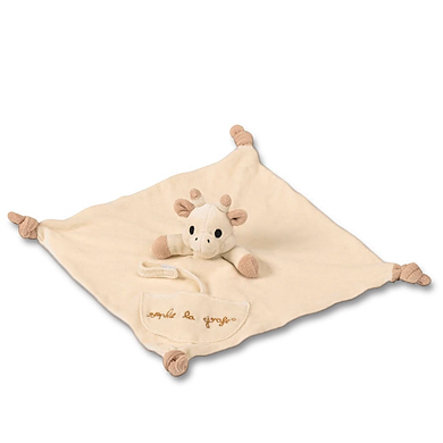 VULLI SO'PURE Doudou Sophie la Girafe avec attache-sucette