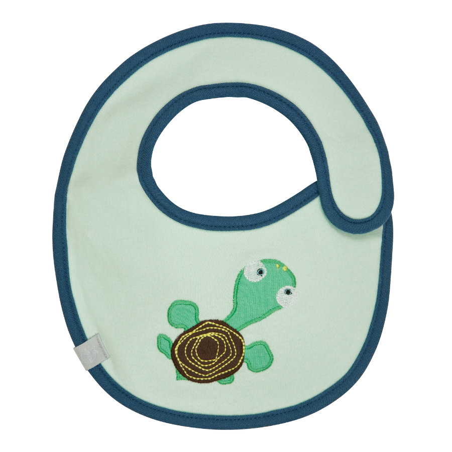 LÄSSIG Waterproof Bib small, Wildlife Turtle