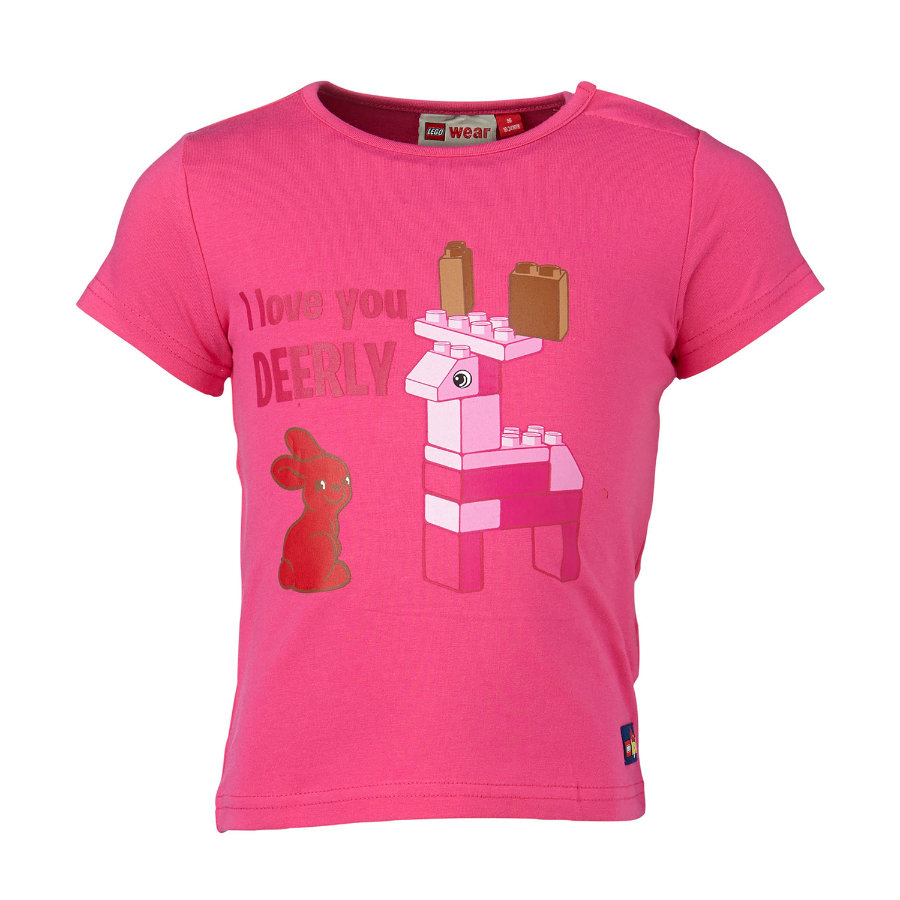 LEGO WEAR Duplo Girls T-shirt TINA 106, rose vif