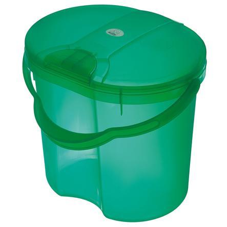 Koš na pleny ROTHO TOP Translucent Green