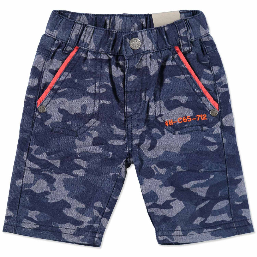 PEBBLE STONE Boys Mini Bermuda dark blue