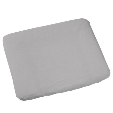 ODENWÄLDER Treey Cotton Change Mat Cover 75 x 85 cm, silver