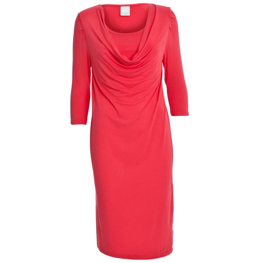 MAMA LICIOUS Umstands Jersey Still-Kleid FAITH paradise pink