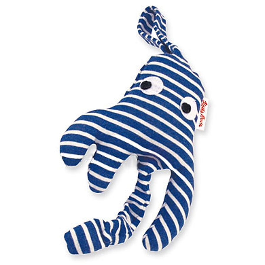 KÄTHE KRUSE Car Seat Toy - Octupussi - Blue