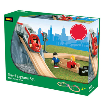 BRIO Trein Travel Explorer set