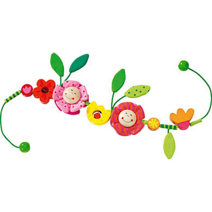 HABA Stroller Chain Flowers