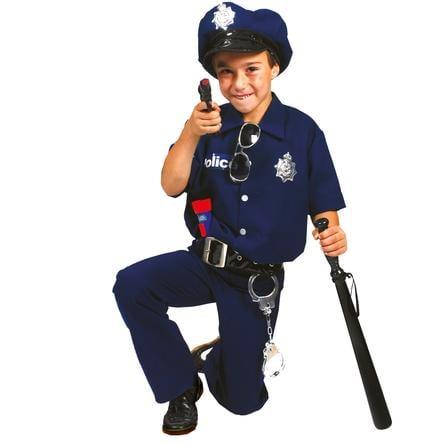 FUNNY FASHION Maskerad Kostym Polis