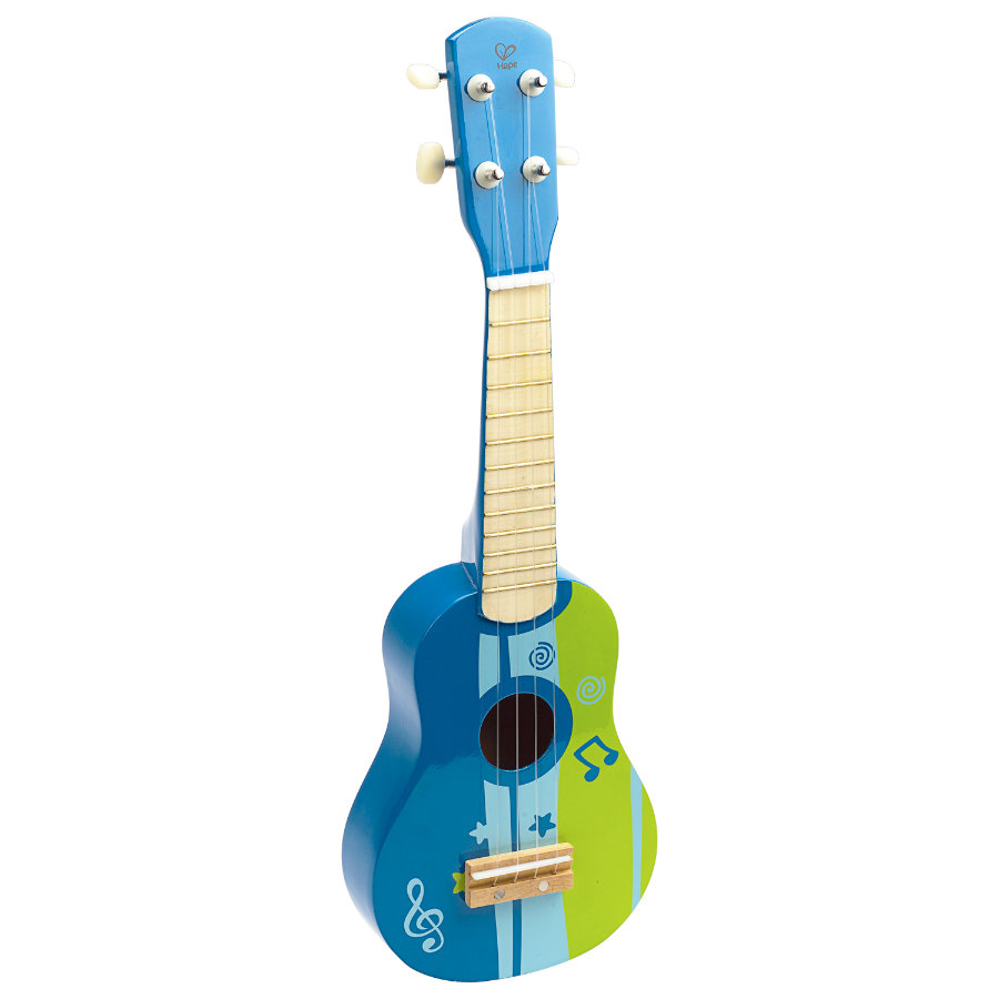 HAPE Ukulele/Gitara kolor niebieski
