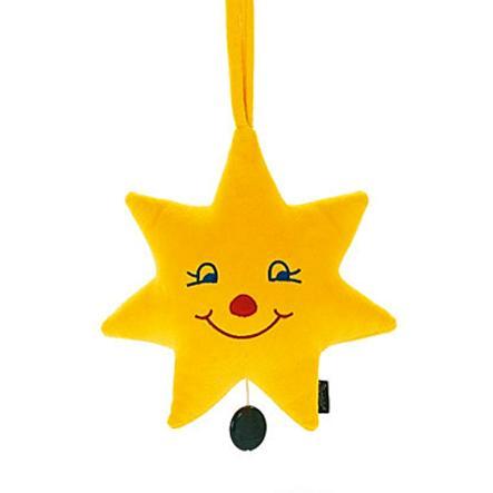 STERNTALER boîte à musique étoile jaune