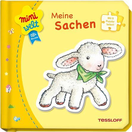 TESSLOFF miniwelt Kleines Puzzlebuch: Meine Sachen