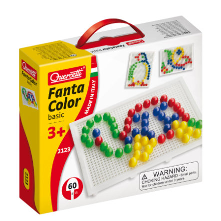 BELUGA Quercetti - Gioco con Chiodini Fanta Color Basic 60