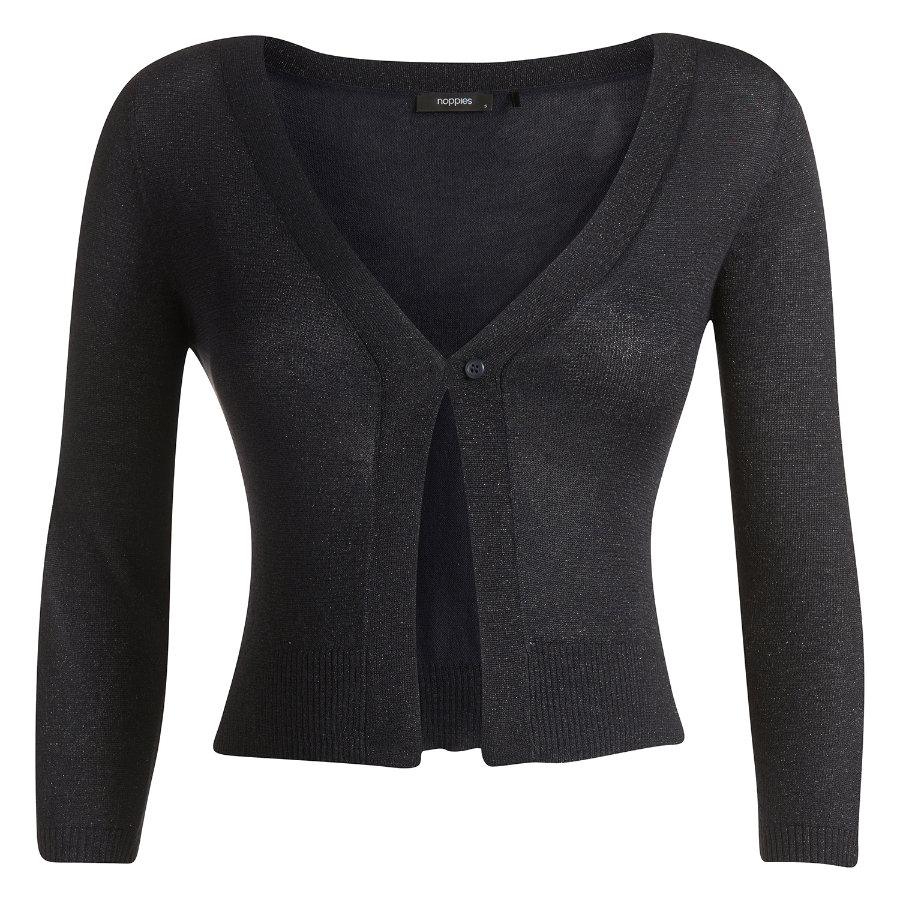NOPPIES Cardigan corto premaman LEONA dark blue