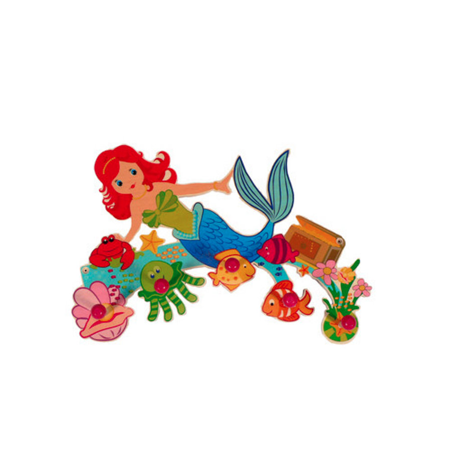 HESS Coat Rack - Mermaid