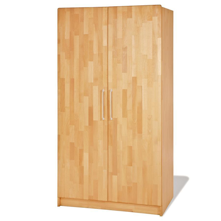 PINOLINO Garderob Natura med två dörrar