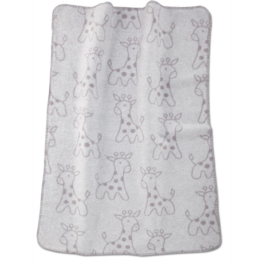 ALVI Cotton Baby Blanket with a Chain Stitched Edge
