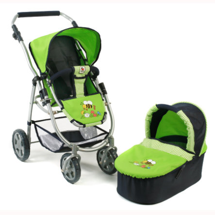 "BAYER CHIC 2000 Passeggino bambola 2in1 ""Emotion"" 638-16"