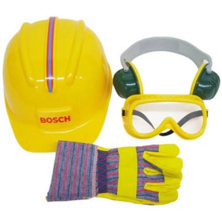 Theo klein BOSCH Accessoires de chantier enfant Mini 4 pièces 8537