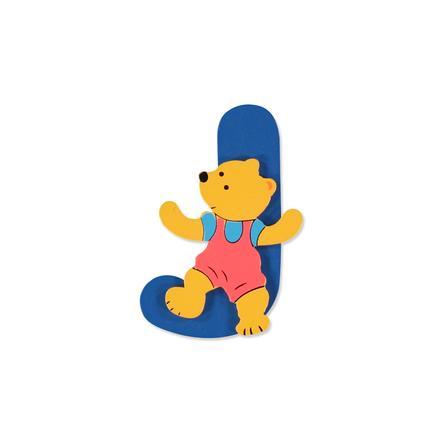 """BIECO Medvědí písmenko """"J"""""""