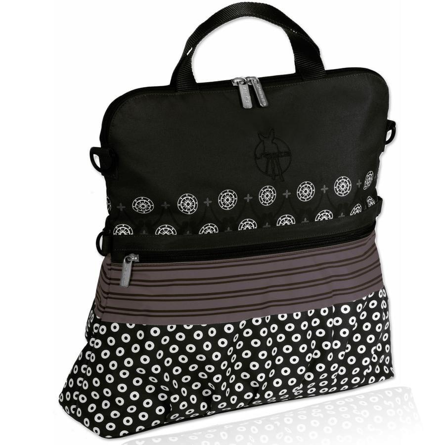 LÄSSIG Casual Buggy/Stroller Bag Multimix black