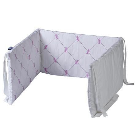 TICAA Bett- und Laufgitternestchen Pink
