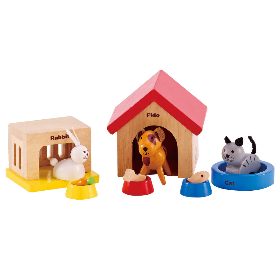 HAPE Pets for all the family, 12 parts