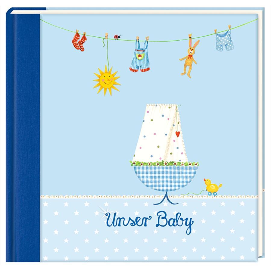 COPPENRATH Eintragalbum Unser Baby hellblau
