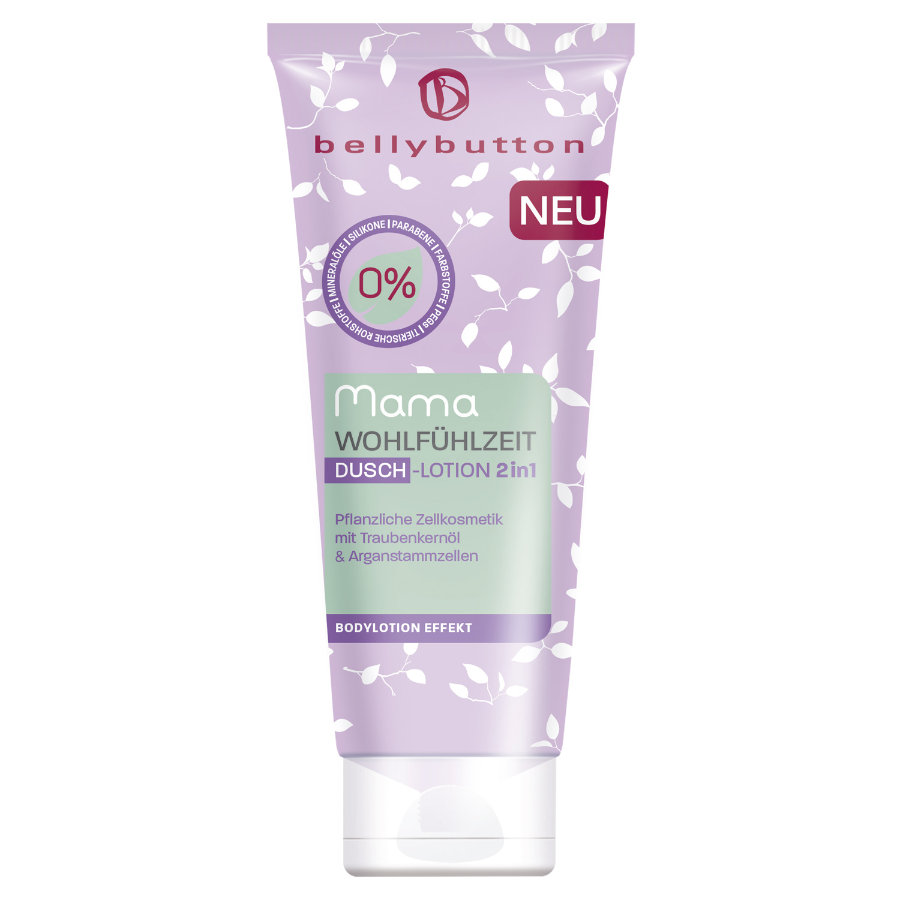 belly button Douche Lotion 2en1 Wellness time pour maman 200 ml