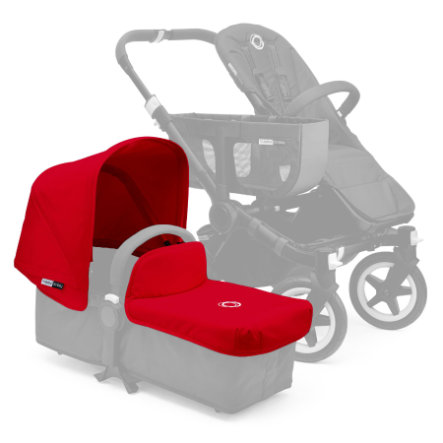 bugaboo Tablier canopy pour nacelle Donkey rouge