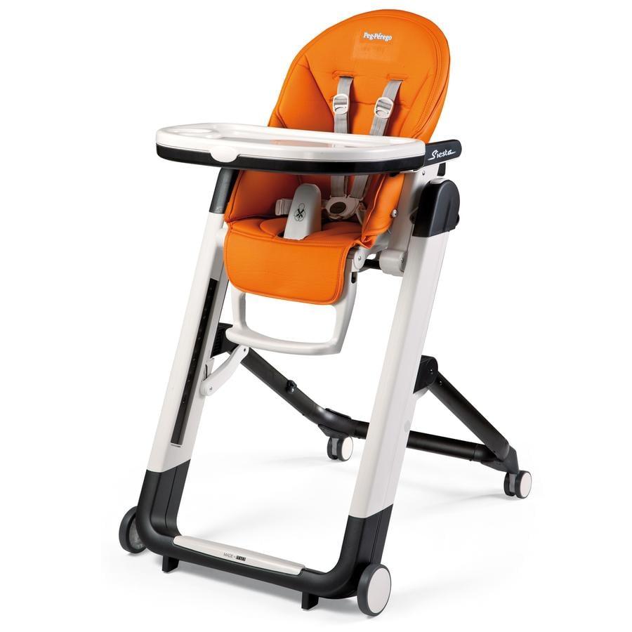 PEG-PEREGO Krzesełko do karmienia SIESTA Arancia
