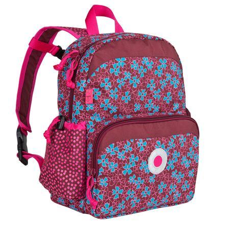 LÄSSIG Zainetto Mini Backpack Blossy pink, fucsia fantasia a fiori