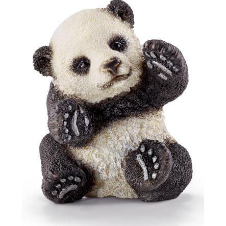 SCHLEICH Panda, ung, lekande 14734